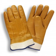 TAN, DOUBLE DIPPED, FOAM INSULATED PVC, TEXTURED FINISH, SAFETY CUFF