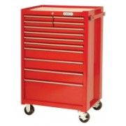 RED 12 DRAWER ROLLER CABINET 27X42""