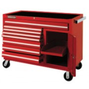 RED 8 DRAWER WORKSTATION50X41""