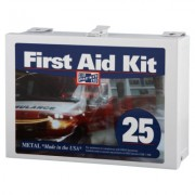 25 PERSON STEEL CONTRACTOR'S FIRST AID KIT