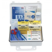 WEATHERPROOF PLASTIC 25PERSON IND. FIRST AID K