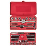 SET TAP&DIE 39PC SOLID HANSON THRD 1SOL