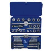 SET TAP&DIE 41PC METRICHANSON THREAD TAP