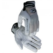 MECH GLOVE GRY SPLIT DEER PALM