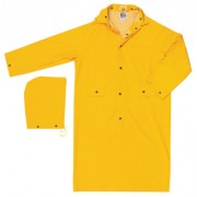 "CLASSIC- .35MM- PVC/POLYESTER- 49"" COAT- YELLOW"