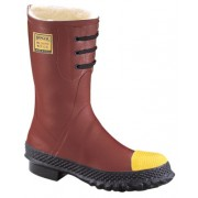SHEARLING INSULATED STEEL TOE POLY RUBBER