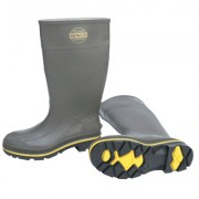 """DWOS BOOT-PRO 15"""" GRY/YEL/BLKSTEEL TOE"""