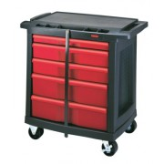 5-DRAWER BLACK ACTIONPACKER WORK CENTER
