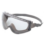 UVEX STEALTH SAFETY GOGGLE GRAY/CLEAR LENS
