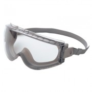 UVEX STEALTH GRAY BODY CLEAR HS LENS