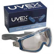 UVEX STEALTH SAFETY GOGGLE TEAL/GRAY F