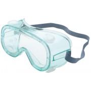 SPARTAN GREEN FRAME SAFETY GLASSES CLEAR AF COAT
