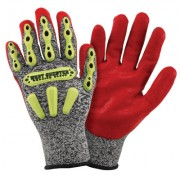 R2 SAFETY RIGGER GLOVE WITH LONG NEOPRENE CUFF -