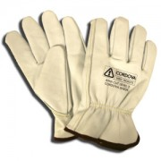 PREMIUM GRAIN GOATSKIN DRIVER, KEVLAR®/GLASS FABRIC LINED, KEYSTONE THUMB, ANSI CUT LEVEL 3