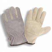 PREMIUM BRUSHED PIGSKIN DRIVER, INTERNAL DOUBLE PALM, 5MM FOAM PADDED BACK, KEVLAR® SEWN