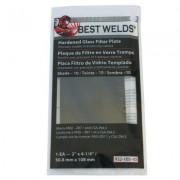 BW-2X4-1/4 #9 GLASS  FILTER PLATE