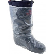 5 MIL, Clear Polyethylene Boot Cover, Elastic Top