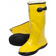 Yellow Slush Boots, Sold by the Pair, Size 8
