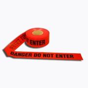 2.5 MIL RED DANGER DO NOT ENTER