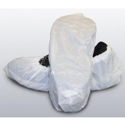 "White Cast Polyethylene ""CPE"" Shoe Cover XL"