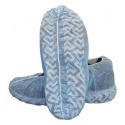 Blue Polypropylene Disposable Shoe Cover Machne Made