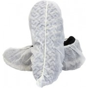 White Polypropylene Disposable Shoe Cover