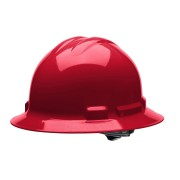 DUO™ RED FULL-BRIM STYLE HELMET, 4-POINT RATCHET SUSPENSION