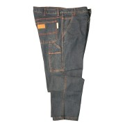 FOREFRONT™ FR CARPENTER JEANS, 13 OZ FIREZERO® DENIM FABRIC, RELAXED FIT, SIX POCKETS, HAMMER LOOP, ZIP FLY, WAIST 46/LENGTH 36