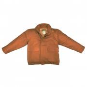 FOREFRONT™ FR DUCK INSULATED BOMBER JACKET, 11 OZ FIREZERO® DUCK OUTER, 12 OZ MODACRYLIC QUILTED LINING