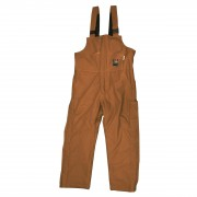 FOREFRONT™ FR DUCK INSULATED BIB OVERALLS, 11 OZ FIREZERO® DUCK OUTER, 12 OZ MODACRYLIC QUILTED LINING