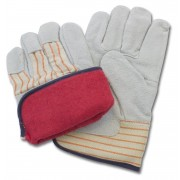 Premium Grade Leather, Rubberized Safety Cuff, Jersey Lining, 1DZ Pair/Bag