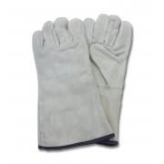 """A/B"" Grade Gunn Cut Gray Leather Welders, 1DZ Pair/Bag, Mens"