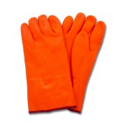 "12"" Orange PVC, Jersey Insulated Foam Lining, Rough Finish"