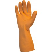 28 MIL, Orange Flock Lined Neoprene Latex Blend
