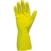 16 MIL, Yellow Retail Packed Flock Lined Latex