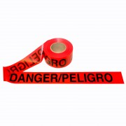 2.0 MIL RED BILINGUAL DANGER/PELIGRO