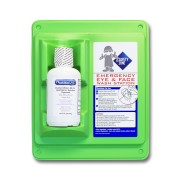 16 Oz. Wall Mount, Single Bottle Eye Wash Station, Sold by the Each