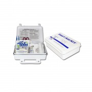 25 Person Plastic First Aid Kit, Sold by the Each