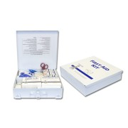 50 Person Metal First Aid Kit, Sold by the Each