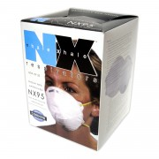 N95 PARTICULATE RESPIRATOR, 2 LATEX FREE STRAPS, NIOSH APPROVED, 20/BOX