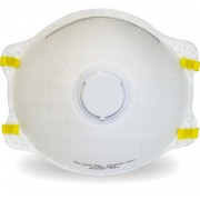Safety Zone Brand NIOSH Approved Respirator, Exhalation Valve, 10/BX