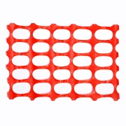 SAFETY FENCING, OVAL PATTERN, ORANGE COLOR, 10 LB